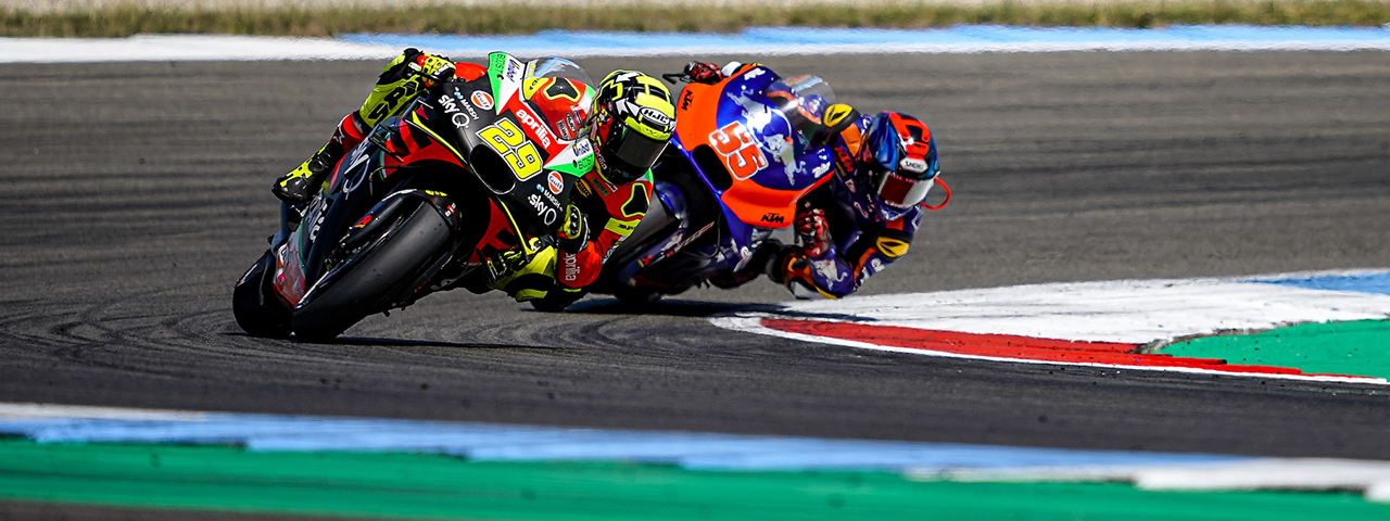 DECIDEDLY POSITIVE RACE FOR APRILIA