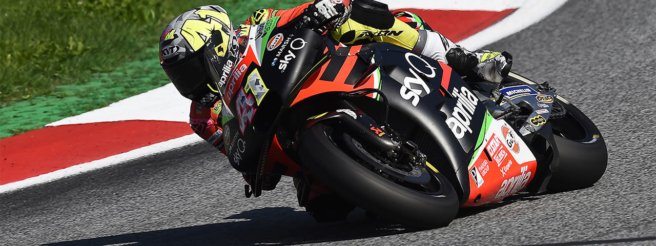 QUALIFIERS BELOW EXPECTATIONS IN AUSTRIA, BUT THE APRILIA RS-GP IS EFFECTIVE OVER RACE DISTANCE