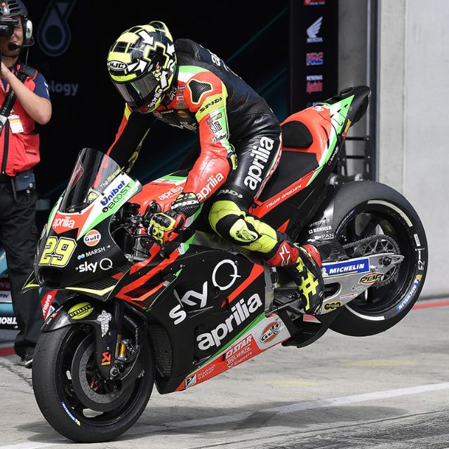 QUALIFIERS BELOW EXPECTATIONS IN AUSTRIA, BUT THE APRILIA RS-GP IS EFFECTIVE OVER RACE DISTANCE_thumb