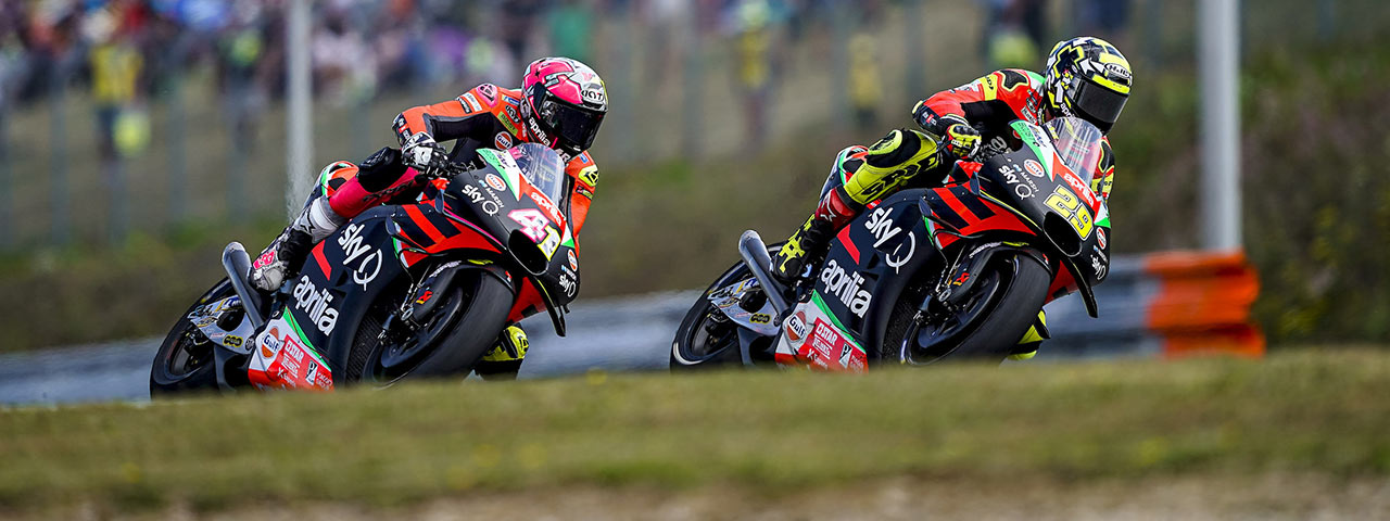 APRILIA RACING - CZECH GP