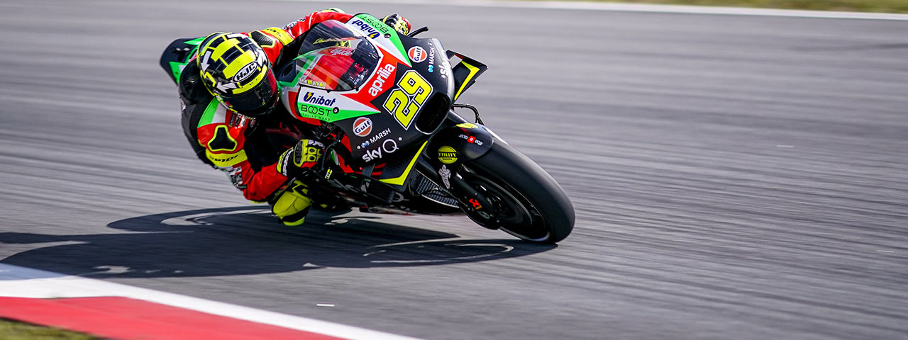 DIFFICULT QUALIFIERS, BUT GOOD PACE FOR THE APRILIAS ON THE SCORCHING SPANISH ASPHALT