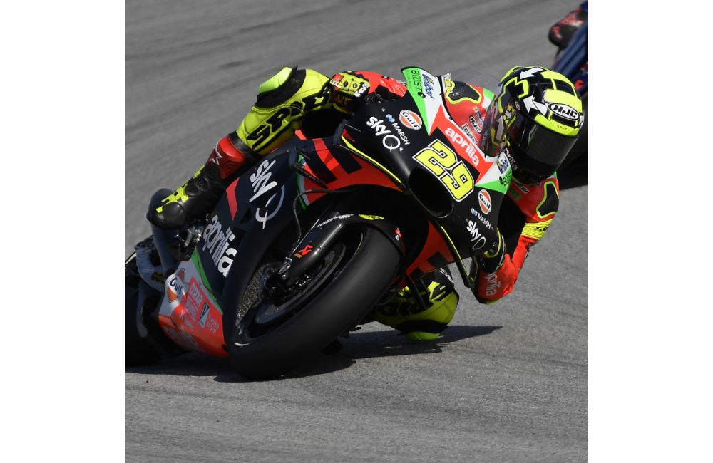 DIFFICULT QUALIFIERS, BUT GOOD PACE FOR THE APRILIAS ON THE SCORCHING SPANISH ASPHALT_1