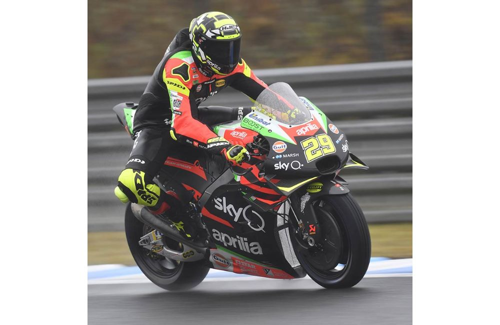 ALEIX ESPARGARÒ RIDES HIS APRILIA RS-GP TO THE THIRD ROW AT MOTEGI_1