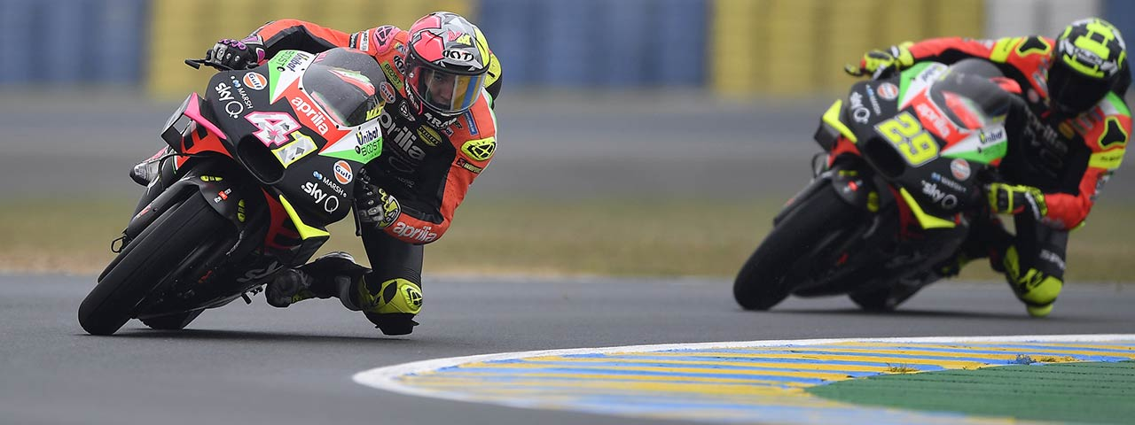 NICE QUALIFIERS FOR ALEIX WHO TAKES A SPOT ON THE THIRD ROW OF THE STARTING GRID TOMORROW AT LE MANS