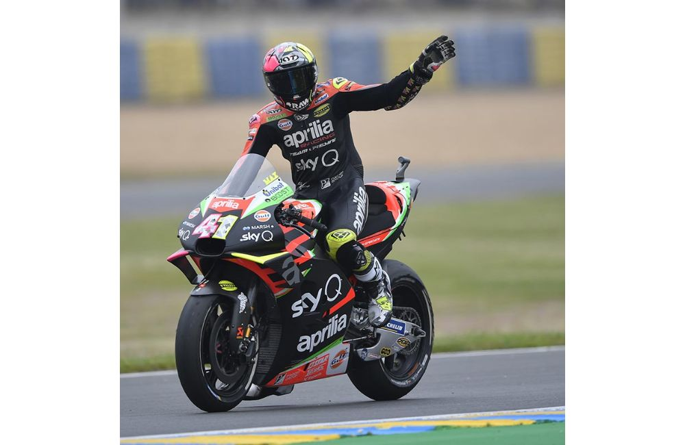 ALEIX AND APRILIA IN THE POINTS AGAIN AT THE LE MANS GP_3