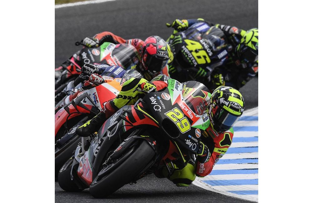IN AUSTRALIA TWO APRILIAS IN THE TOP TEN WITH ANDREA SIXTH AND ALEIX TENTH_0