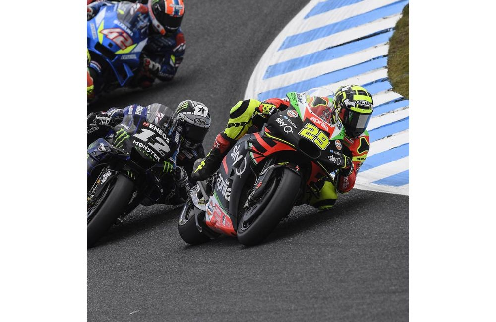 IN AUSTRALIA TWO APRILIAS IN THE TOP TEN WITH ANDREA SIXTH AND ALEIX TENTH_2