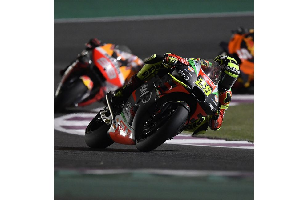 APRILIA BEGINS WELL - ALEIX IN THE TOP TEN STRAIGHT AWAY AND WITH A NARROW GAP BEHIND THE LEADERS_3
