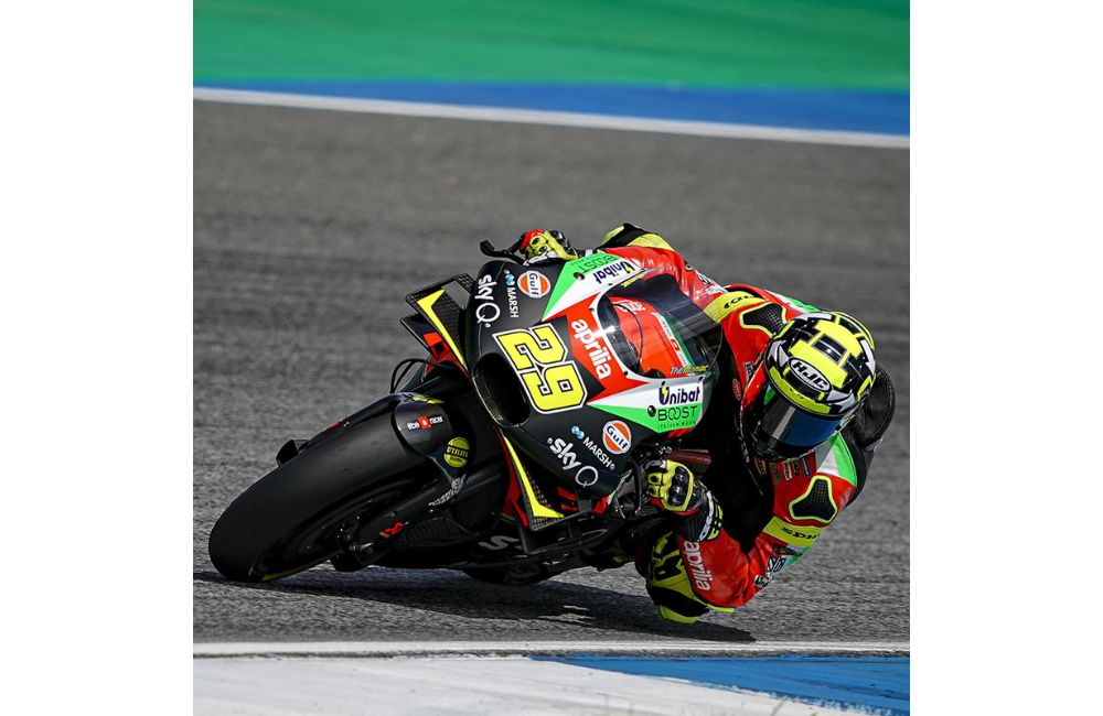 FOURTH AND SIXTH ROW FOR THE APRILIAS IN THE GP OF THAILAND_1