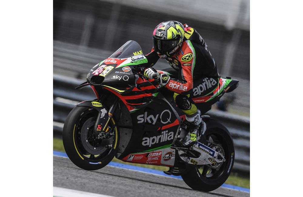 FOURTH AND SIXTH ROW FOR THE APRILIAS IN THE GP OF THAILAND_2