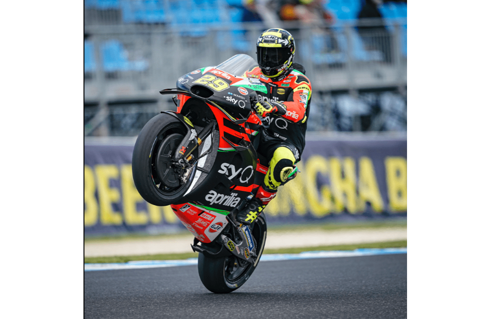 A GOOD FIRST DAY FOR THE APRILIA RIDERS ON PHILLIP ISLAND_1