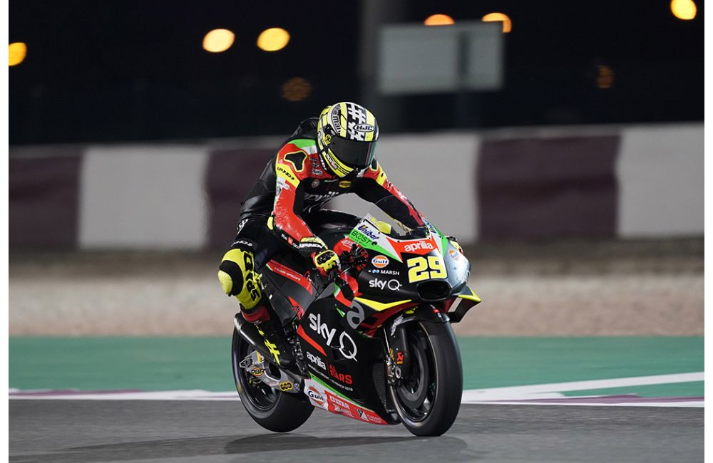 APRILIA RACING - QATAR TESTS - DAY 1_2