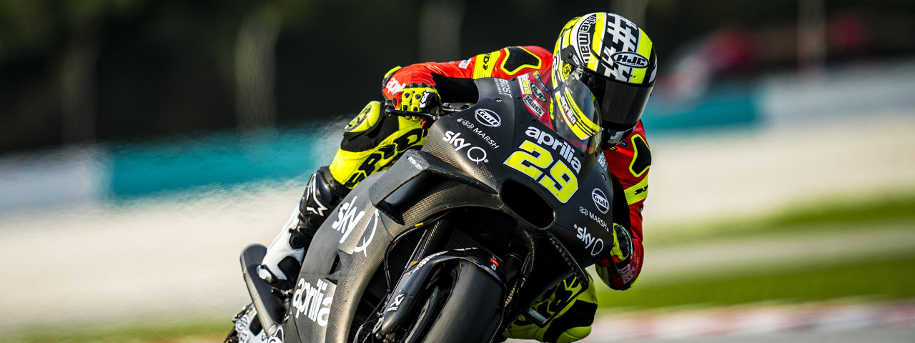 APRILIA RACING - SEPANG TESTS - DAY 1