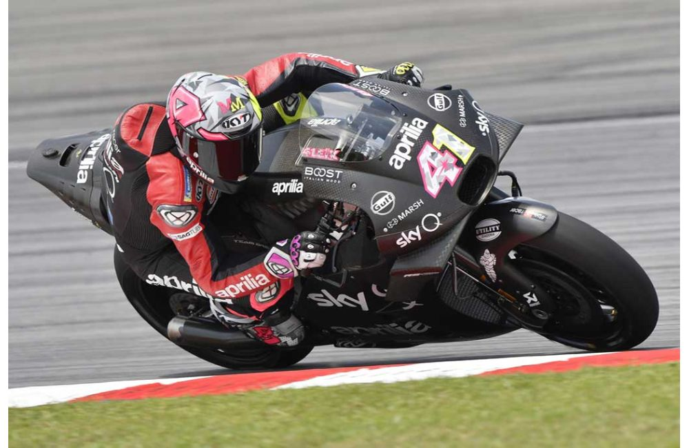 APRILIA RACING - SEPANG TESTS - DAY 1_2