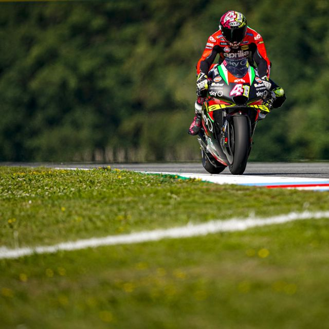 ALEIX SEVENTH AND PROVISIONALLY IN Q2 AFTER THE FIRST PRACTICE SESSIONS AT BRNO