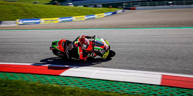 THE BIKES ARE BACK ON THE TRACK AT THE SPIELBERG RED BULL RING IN AUSTRIA_thumb