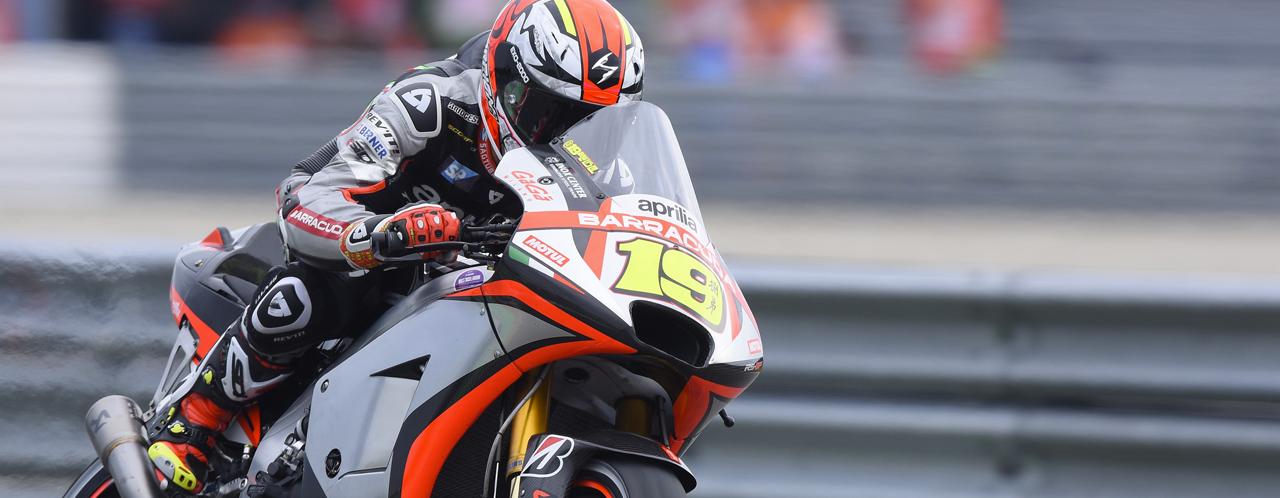Aprilia MotoGP 2015: the preview of Sachsenring race