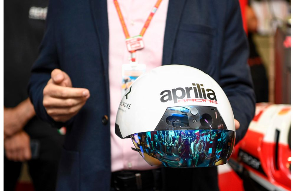 APRILIA RACING LEANS ON AUGMENTED REALITY AT MOTOGP TO MAINTAIN PEAK BIKE PERFORMANCE_0