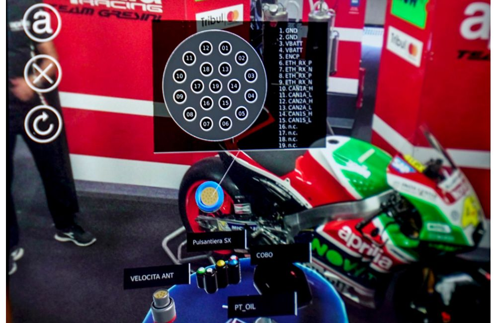 APRILIA RACING LEANS ON AUGMENTED REALITY AT MOTOGP TO MAINTAIN PEAK BIKE PERFORMANCE_8