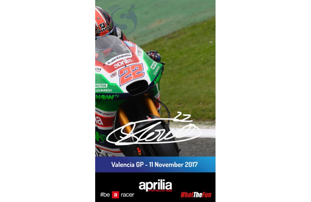 APRILIA RACING AND STARGRAPH BRING THE DIGITAL AUTOGRAPH TO VALENCIA MOTOGP_1