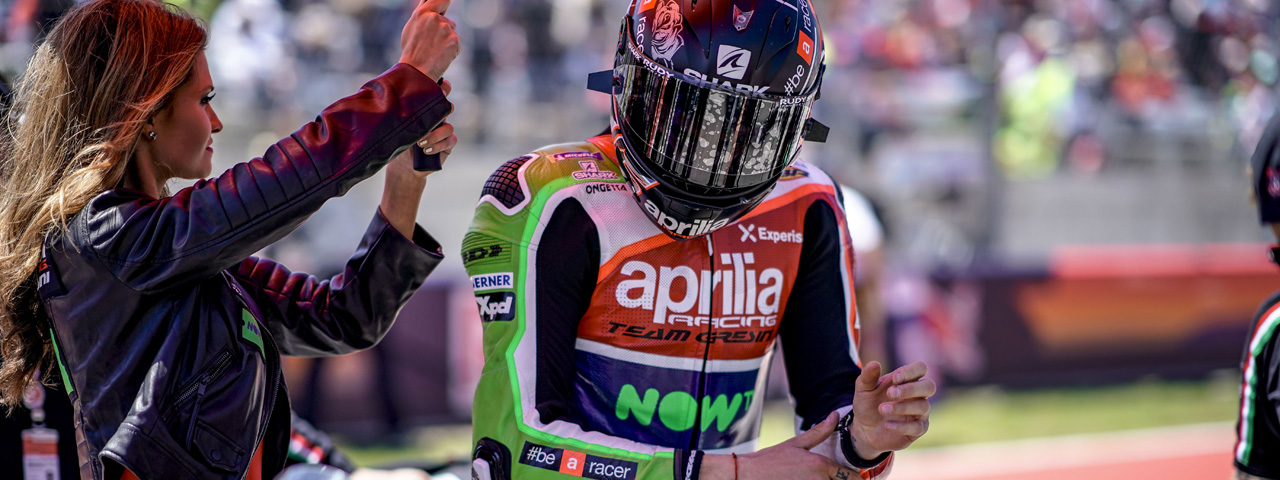 Aprilia MotoGp and partners