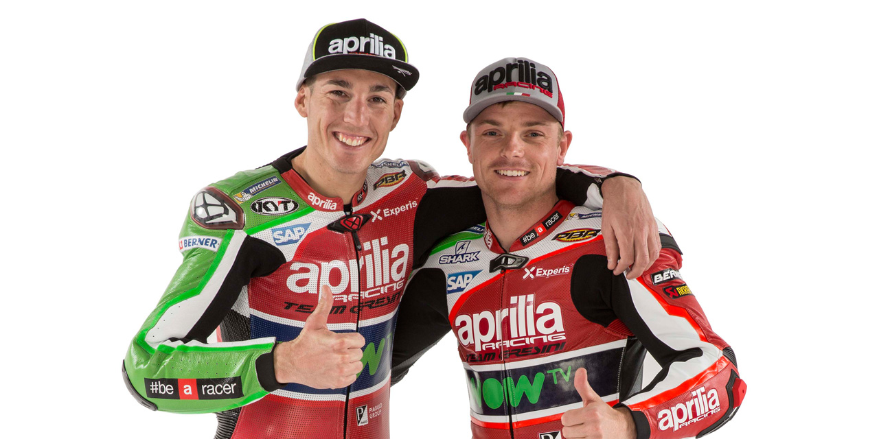 2017 Aprilia Racing Team_THE RIDERS