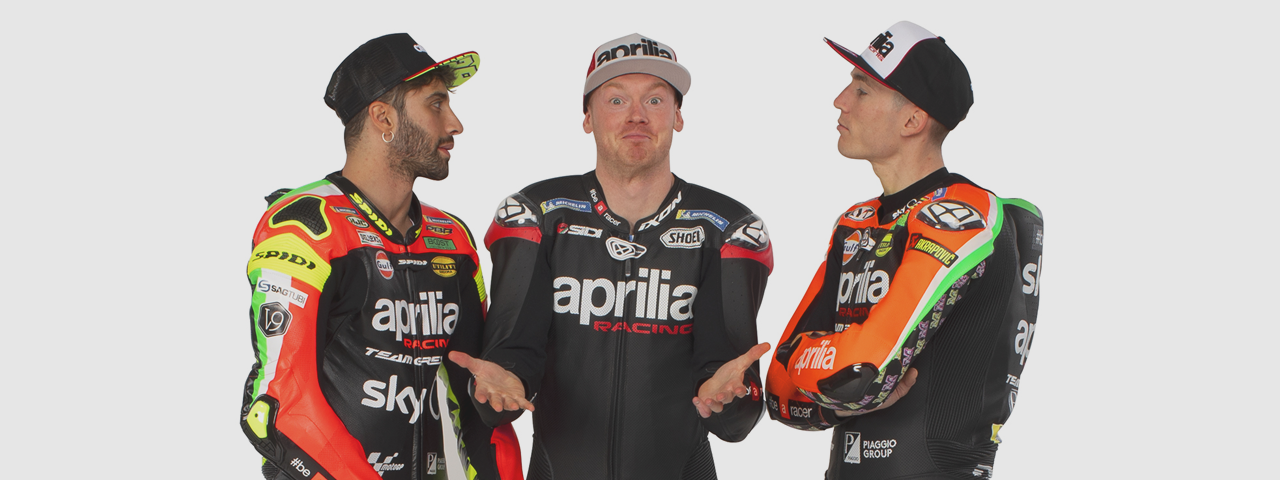 APRILIA MOTOGP TEAM - INTERVIEWS
