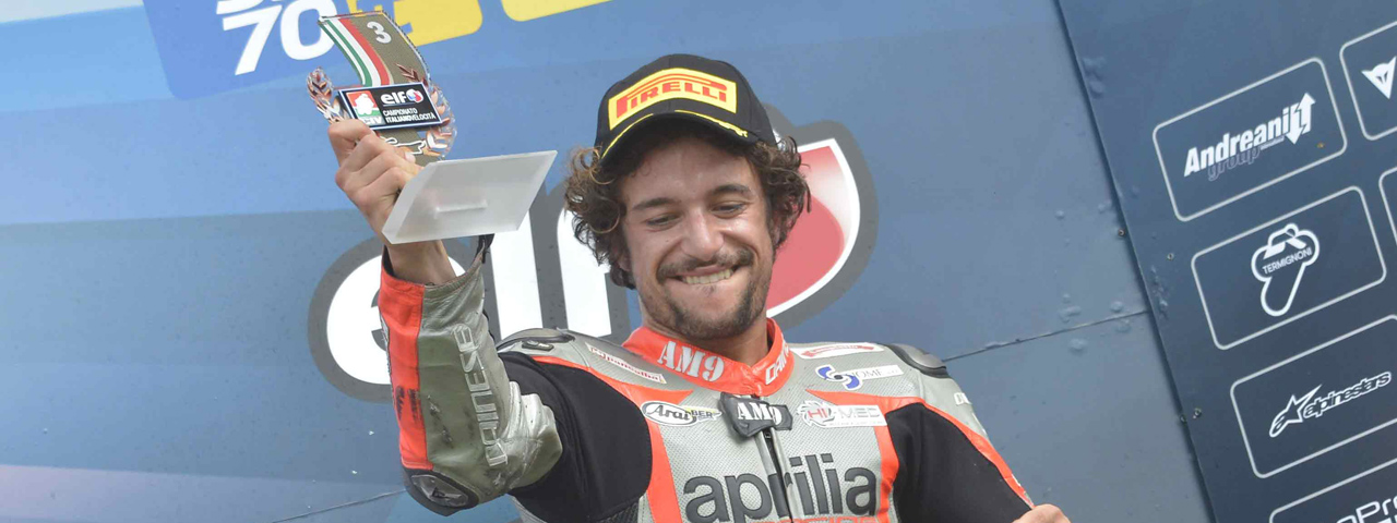 CIV - PODIUM FOR NUOVA M2 RACING WITH APRILIA RSV4 FW-STK
