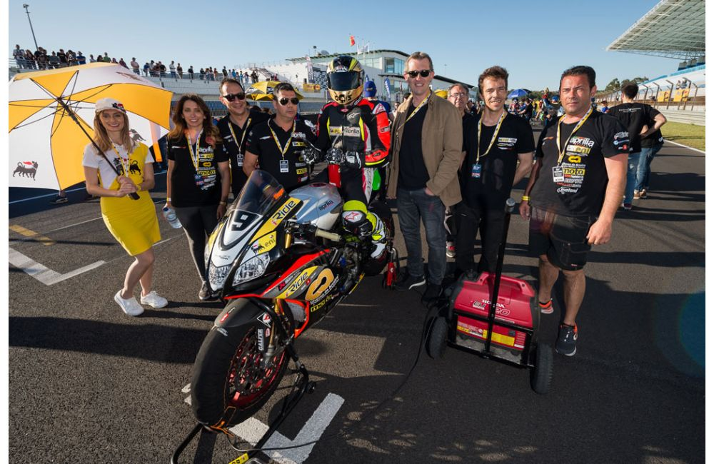 PORTUGUESE CHAMPIONSHIP: RSV4 ON THE PODIUM AT ESTORIL_0