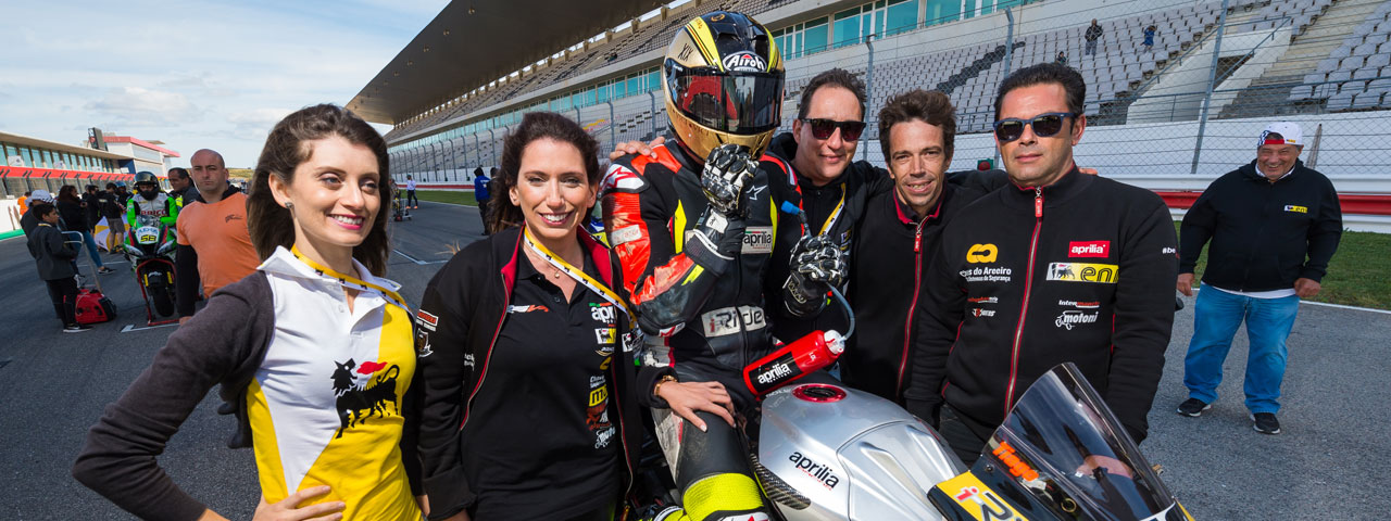PORTUGUESE CHAMPIONSHIP: 2ND PLACE FOR RSV4 AT PORTIMAO I