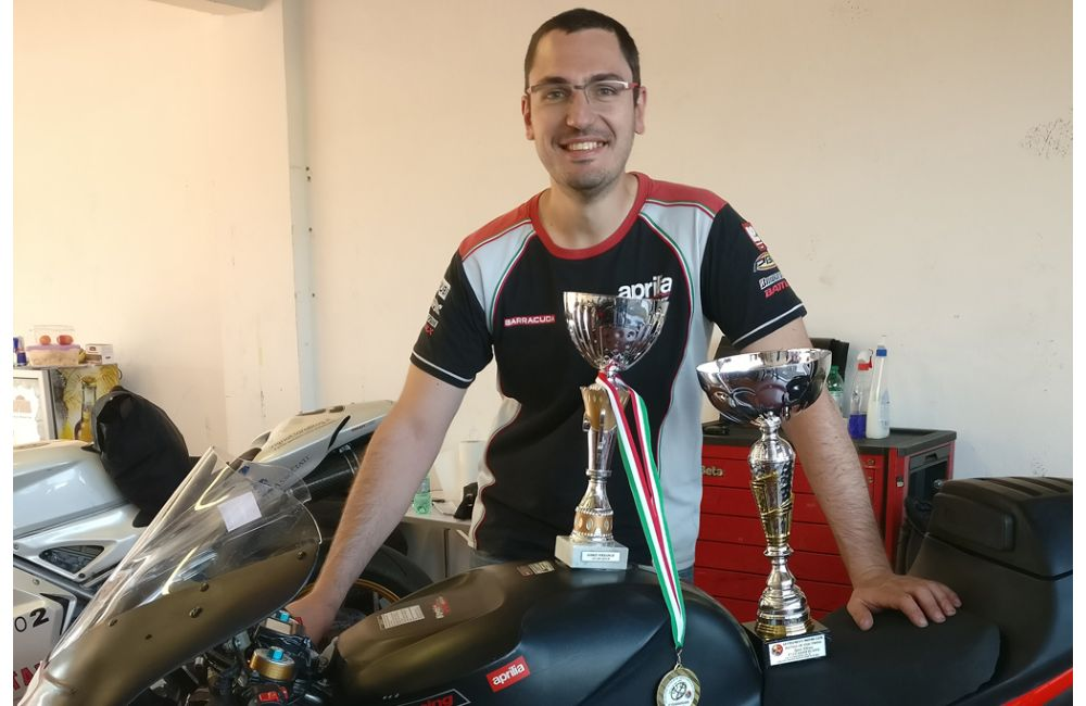 """Battle of Twins"", the RSV 1000 wins at Vallelunga_1"