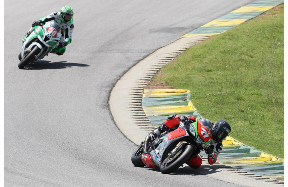MOTOAMERICA: APRILIA HSBK RACING FORGES ON IN VIRGINIA, MAINTAINS LEAD IN SUPERSTOCK 1000