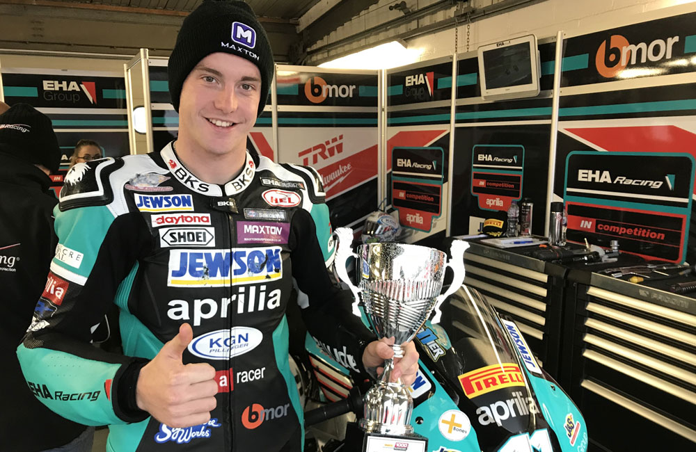 COLLIER THIRD IN DEBUT SEASON IN BRITISH SUPERSTOCK_0