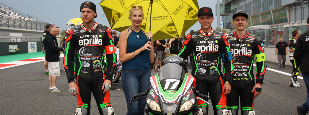 ENDURANCE EUROPEAN, APRILIA GREBENSTEIN MAKES THE PODIUM IN MAGNY COURS