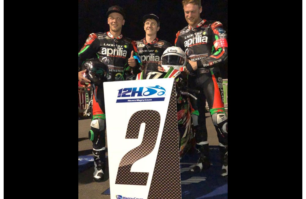 ENDURANCE EUROPEAN, APRILIA GREBENSTEIN MAKES THE PODIUM IN MAGNY COURS_2