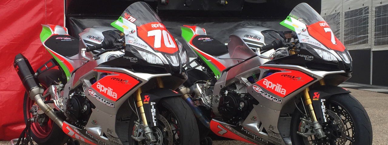 APRILIA READY FOR THE 2018 SUPERSTOCK 1000 FIM CUP ADVENTURE