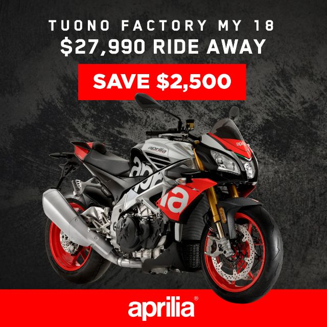 Save $2,500 on Tuono Factory_thumb