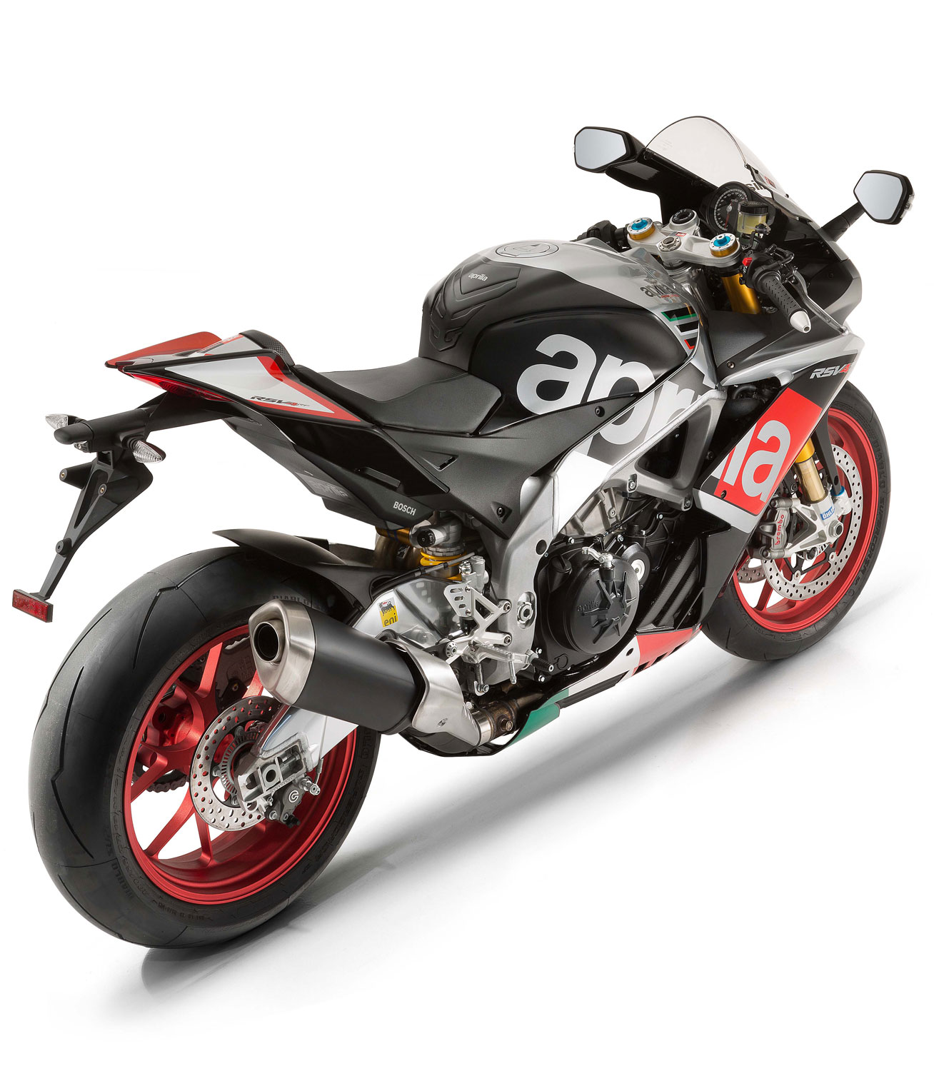 2016 Aprilia RSV4 RF Sportbike FIRST RIDE Motorcycle Review ...