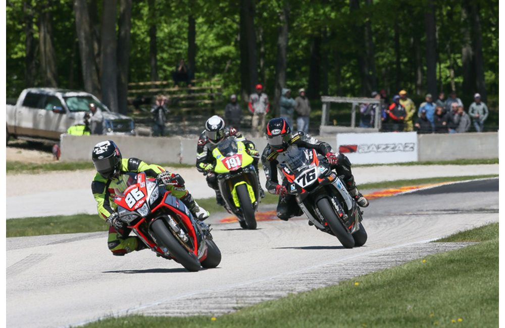 USA: APRILIA HSBK RACING ON THE BOX AT ROAD AMERICA_3