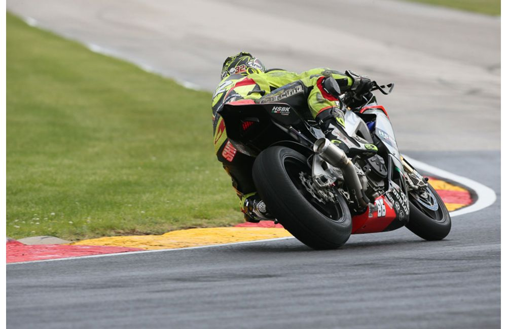 USA: APRILIA HSBK RACING ON THE BOX AT ROAD AMERICA_4