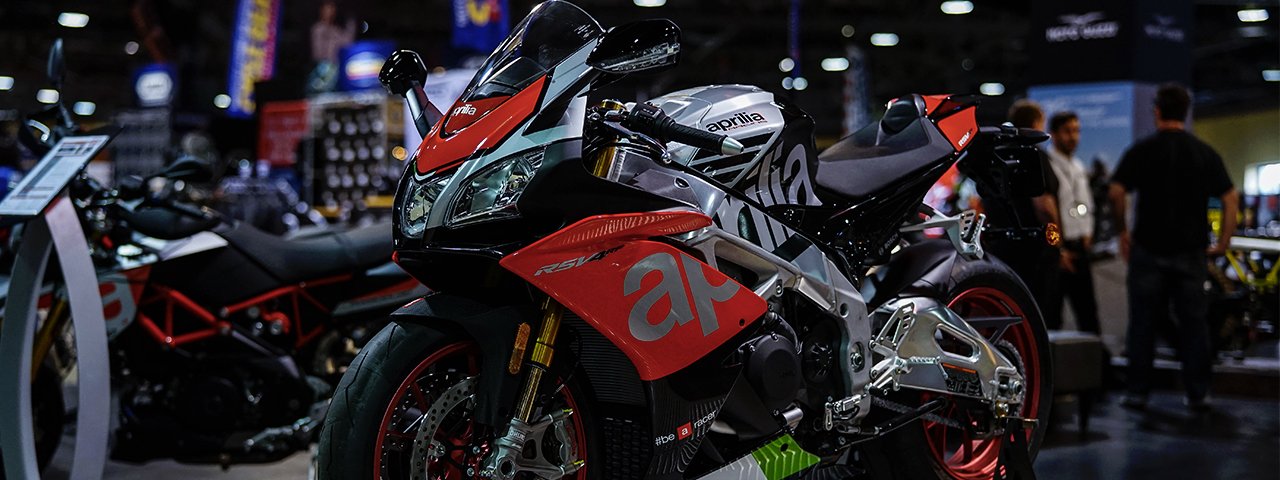 Aprilia Heads to Windy City: Chicago International Motorcycle Shows
