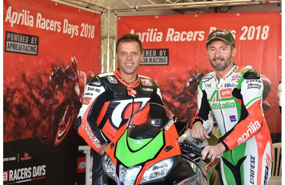 MAX BIAGGI AND LORIS CAPIROSSI TOGETHER AGAIN ON THE TRACK_3
