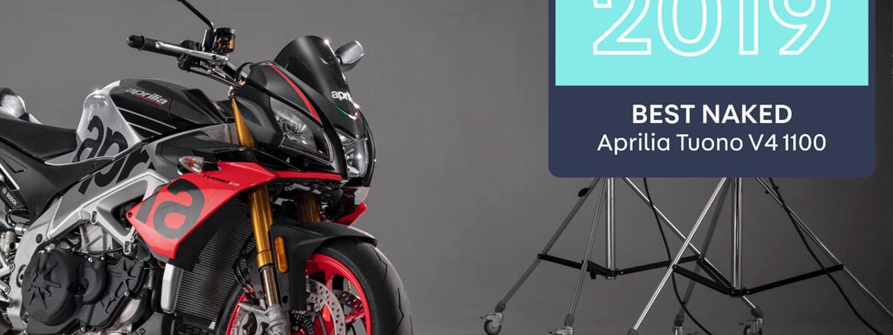 Tuono V4 1100 Factory wins Best Naked in the 2019 AutoTrader Bike Awards